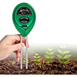 K KERNOWO Soil Test Kit, 3-in-1 Soil pH Meter with Moisture, Light and PH Tester for Garden, Farm, Lawn, Indoor…