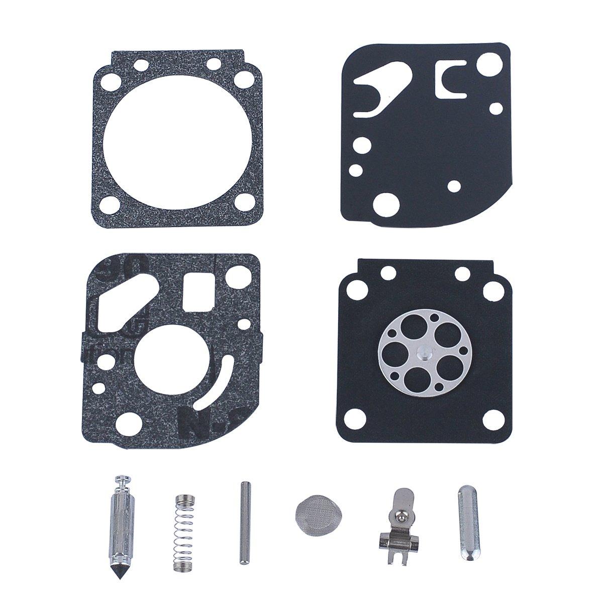 HIPA - Lote de juntas y membranas de carburador para ZAMA ...