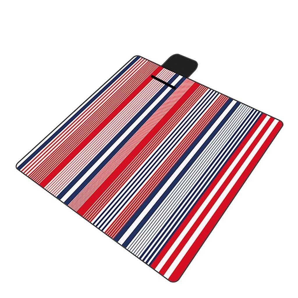 ZKKWLL Picnic Blanket Picnic Blanket, Waterproof Lining Beach mat 200 x 200 cm Collapsible Beach mat Picnic Blanket Beach mat by ZKKWLL