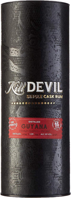 Kill Devil 16 Years Old Single Cask Rum in Gift Box - 700 ml ...
