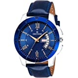 Decode Matrix Collection Day Date Blue Dial DC0707 Men's Watch