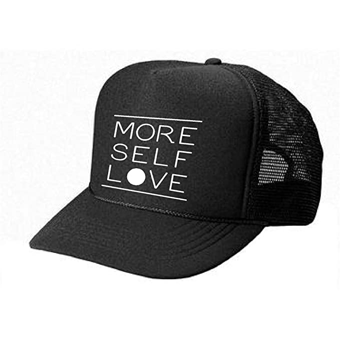 cf63f9e020a3e Women s cute HAT - More self love - cool stylish apparel accessories  (Black-White