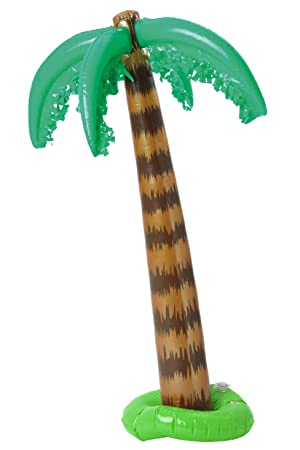 Smiffys - Palma inflable, 91 cm