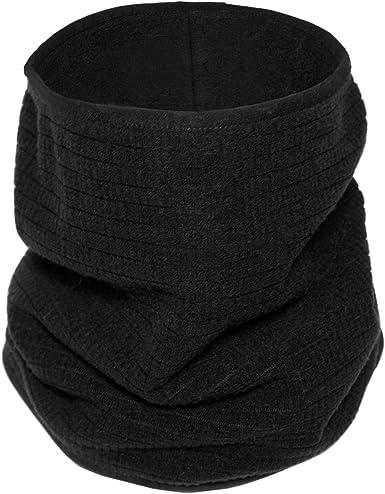 Heekpek Neck Warmer Fleece Tube Scarf Winter Snood Infinity Scarf Unisex Thermal scarf Windproof Dustproof Skiing Double-Layer Snood for Mens Women Knitted Scarf