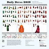 Daily Dress 2019 Wall Calendar