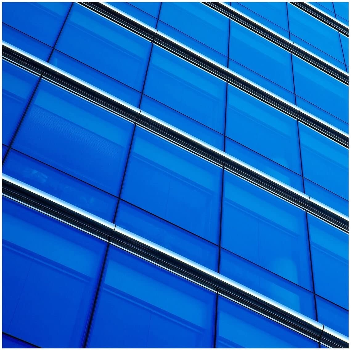 BDF CABL Window Film Transparent Color Blue 36 X 25ft