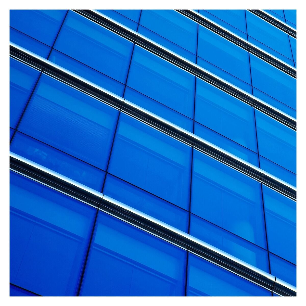 BDF CABL Window Film Transparent Color Blue (48'' X 12ft) by Buydecorativefilm