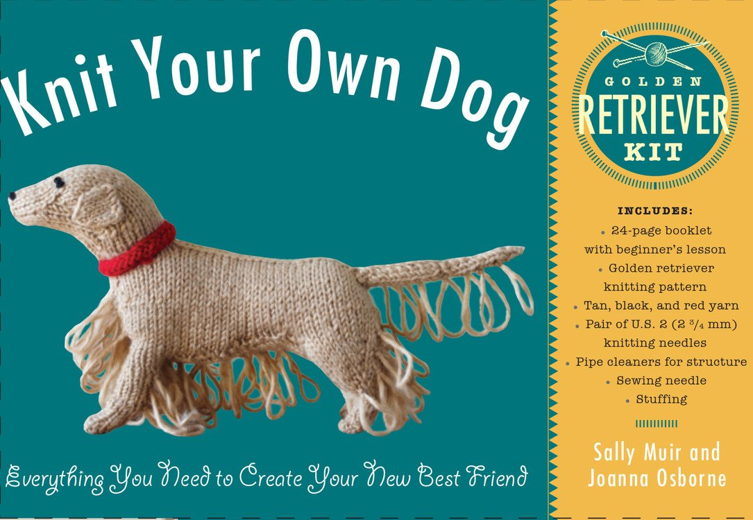 Knit Your Own Dog: Golden Retriever Kit