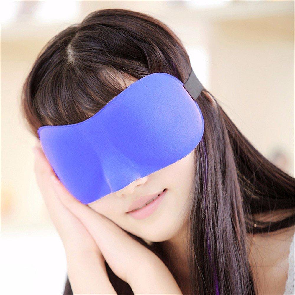 WanJiaMen'Shop de Sombras Gafas de WanJiaMen'Shop Dormir Gafas 3D sombrear Gafas de Dormir Máscara Transpirable, Piezas de Rojo ab290d