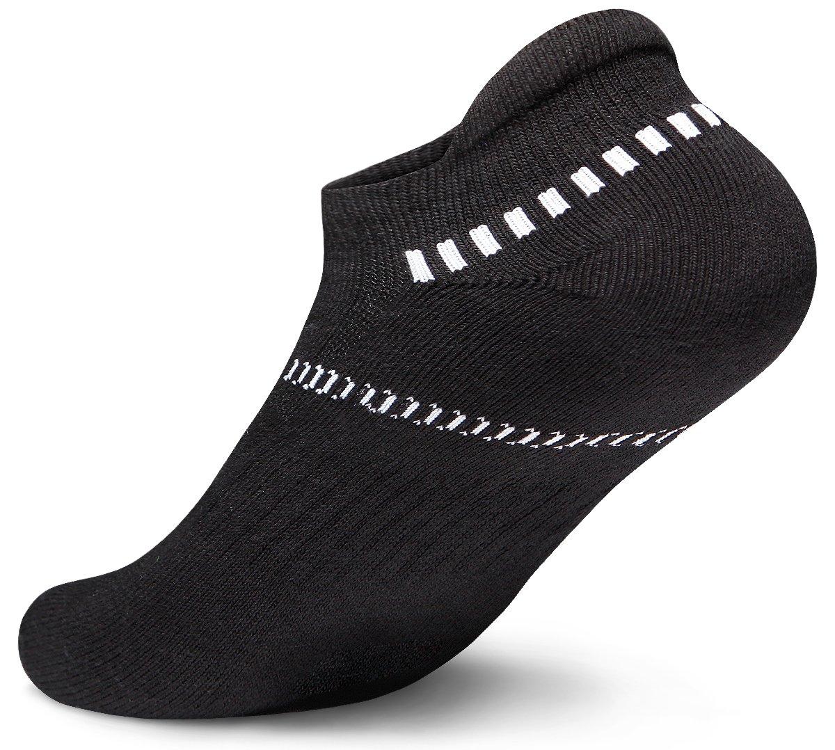 Tesla Men's 6-Pairs Athletic Sports Socks MZS Series