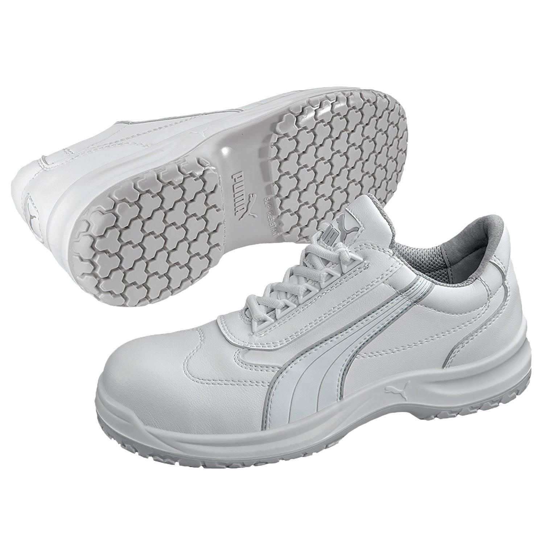 Puma Safety Sicherheitsschuhe White'N Service Clarity Low S2