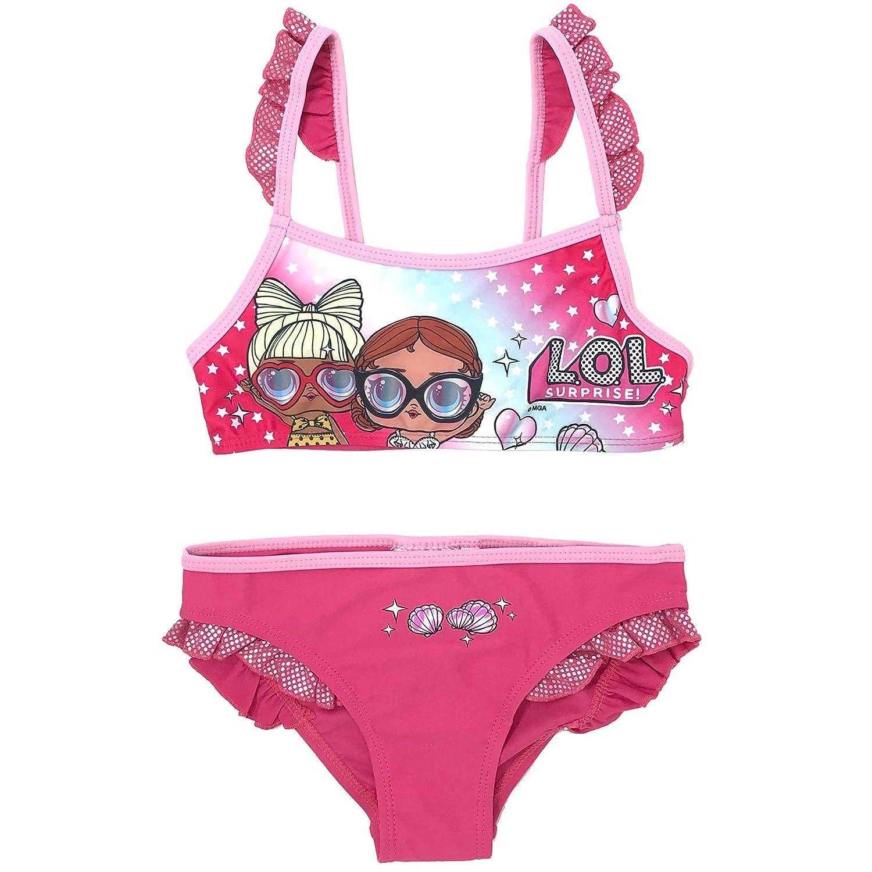 LOL Surprise SE6310 Costume Due Pezzi Bambina Bikini Poliestere
