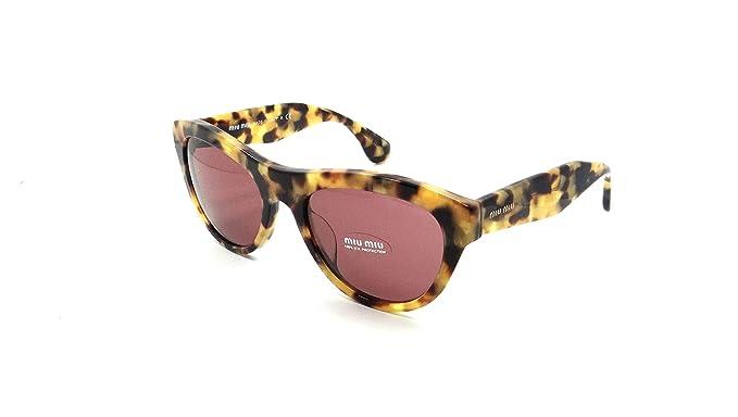 d0af70f142ce ... Miu Miu 09OS PC80A0 Tortoise Shell 09OS Cats Eyes Sunglasses Lens