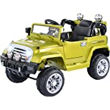 Costzon12V MP3 Kids Ride On Truck Jeep Car RC Remote Control w/ LED Lights Music New