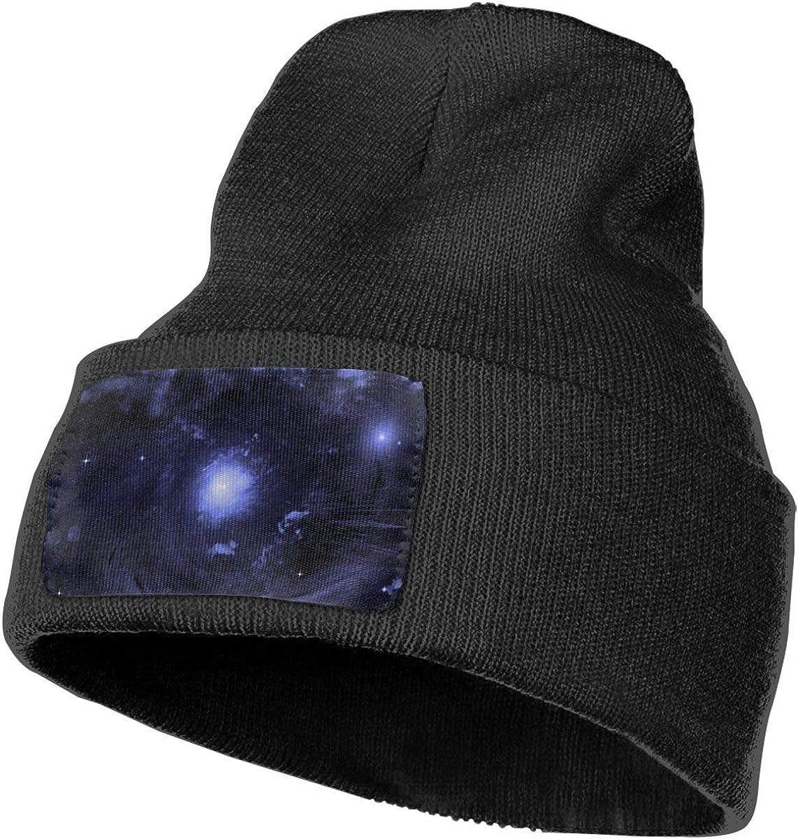 100/% Acrylic Acid Mas Beanie Hat Ruin Dark Purple Aurora Fashion Knitting Hat for Men Women