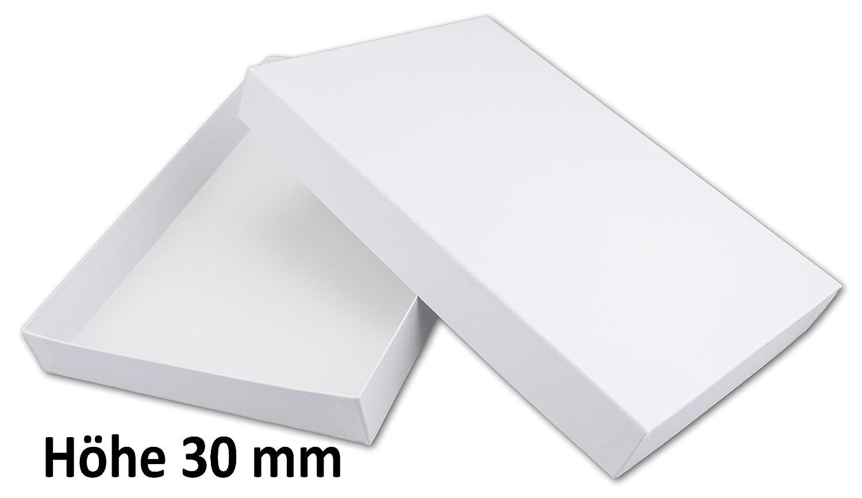 /hochweiss coppie di diverse Masse 1 pezzo A4 Regalo di alta qualit/à e di archiviazione Boxes/ Hochwei/ß H/öhe 70 mm