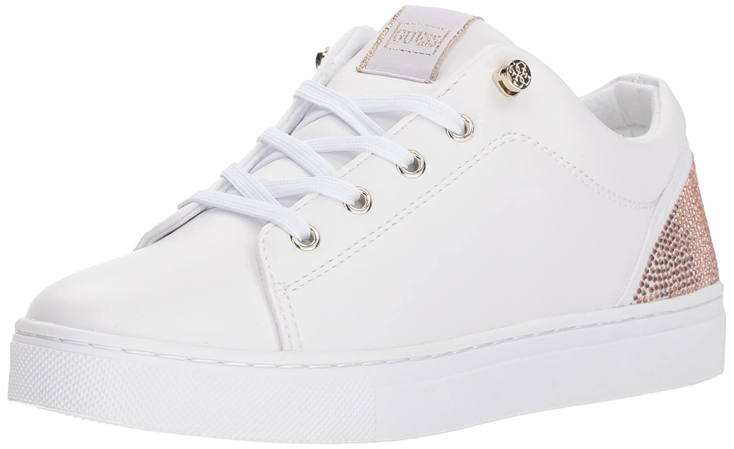 GUESS Women's Jollie Sneaker B0727Y59JH 5 B(M) US|White