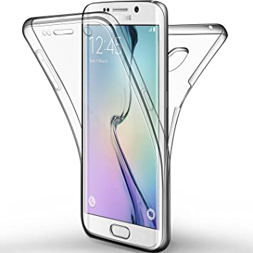 Galaxy Galaxy S6 Edge Funda, Leathlux Cover Galaxy S6 Edge ...