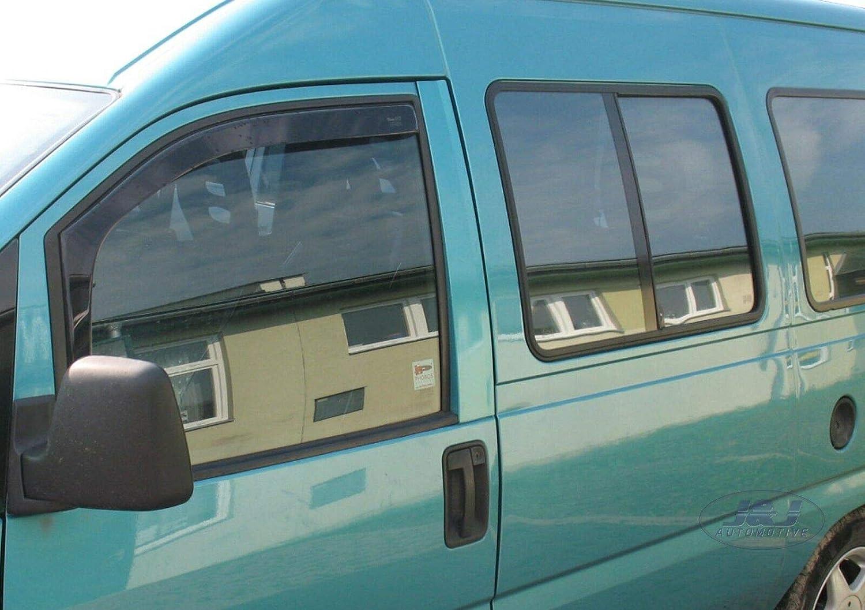 Deflecteurs dair D/éflecteurs de Vent Compatible avec Peugeot 806 1994-2002 2pcs J/&J AUTOMOTIVE