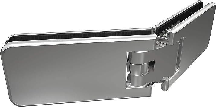 KL®megla Classic Vario - Bisagra para puerta de ducha, cristal de 135°, apertura por ambos lados, posición cero, ajustable: Amazon.es: Bricolaje y herramientas