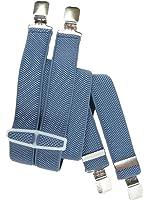 Kinder 5-12 Jahre Unifarben Hosenträger mit 4 Clips / Kunststoff
