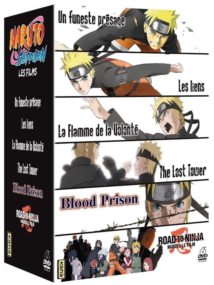 Naruto Shippuden - Les 6 films : Un Funeste présage + Les ...