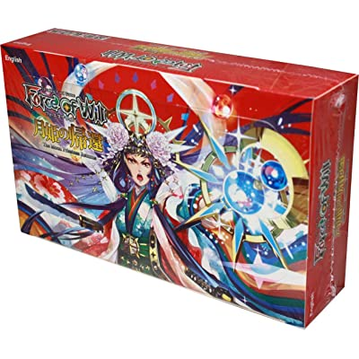 Force of Will FOW TCG Trading Card Game: Series 3 G3 The Moon Priestess Returns Booster Box English Version - 36 Booster Packs of 10 Cards Each: Toys & Games