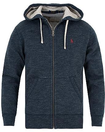 timeless design c85e6 344c1 Polo Ralph Lauren Herren Sweat Jacke Shirt Wolle Kapuze ...