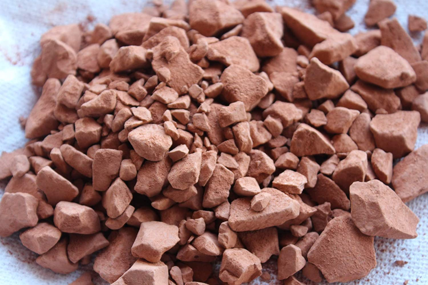 Crushed Indian Red Clay