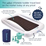 hiccapop Inflatable Toddler Travel Bed with