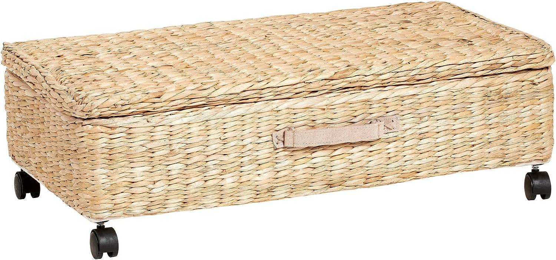 Hartleys Unterbettbox Unterbettkommode Seegras Kleider Schlafzimmer Aufbewahrung