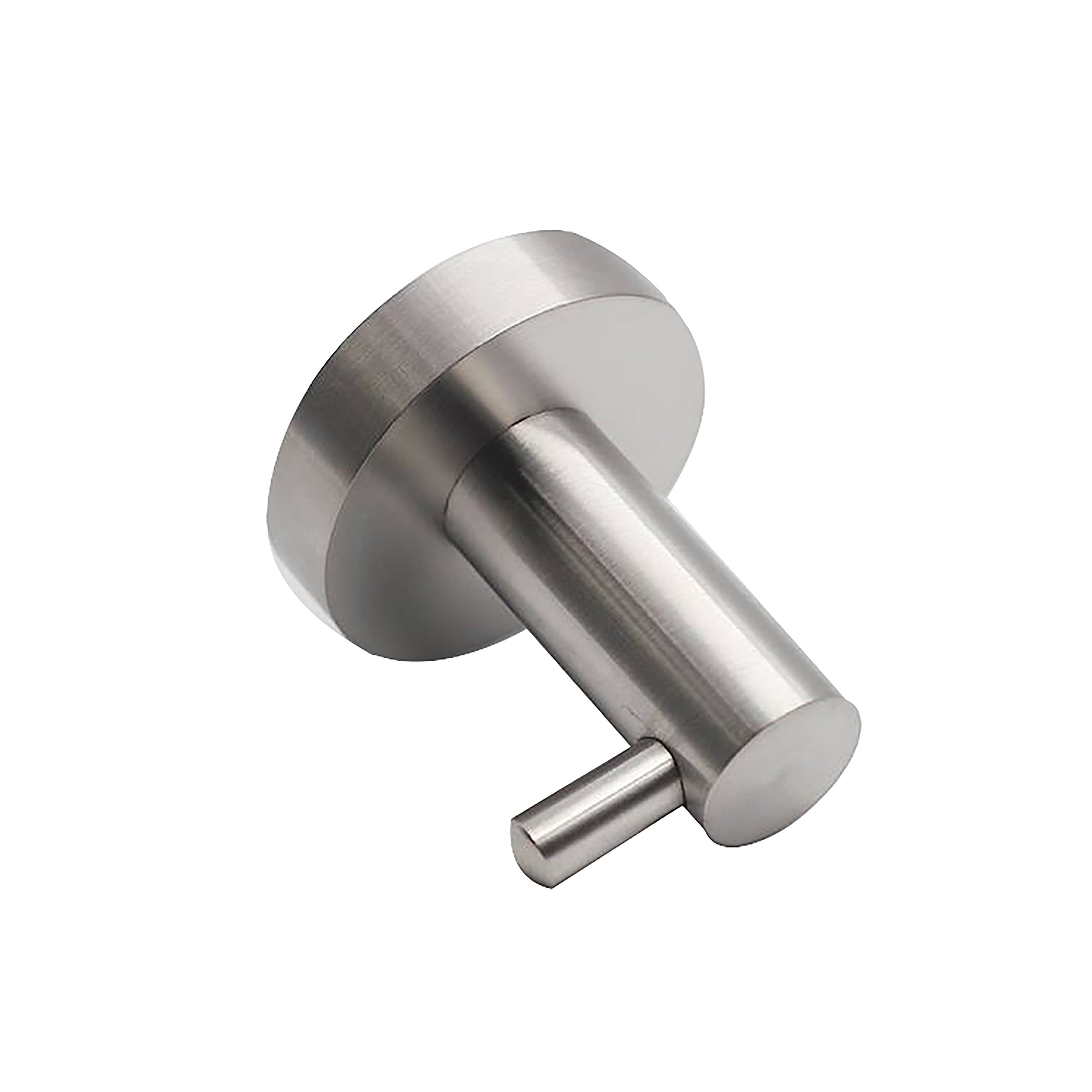 QT Home Decor Premium Modern Single Coat Hook Perfect for Towels/Robes/Clothes for Bathroom, Kitchen, Garage - Easy to Install and Made of Solid Stainless Steel
