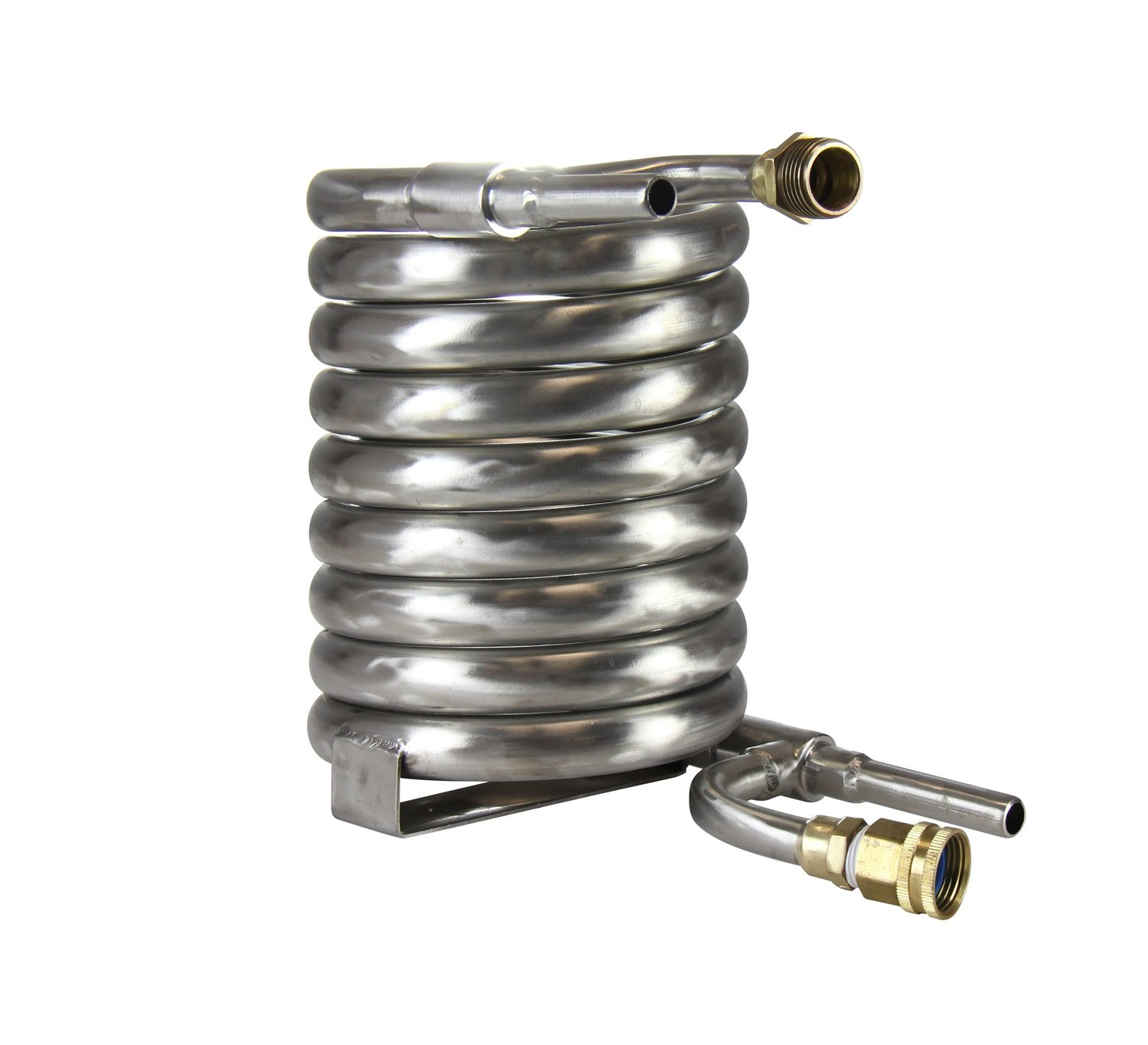 Kegco's Stainless Steel Counterflow Chiller