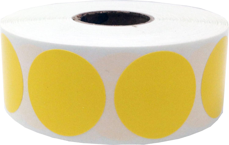 Etiketten rund 2,5 cm Durchmesser gr/ün