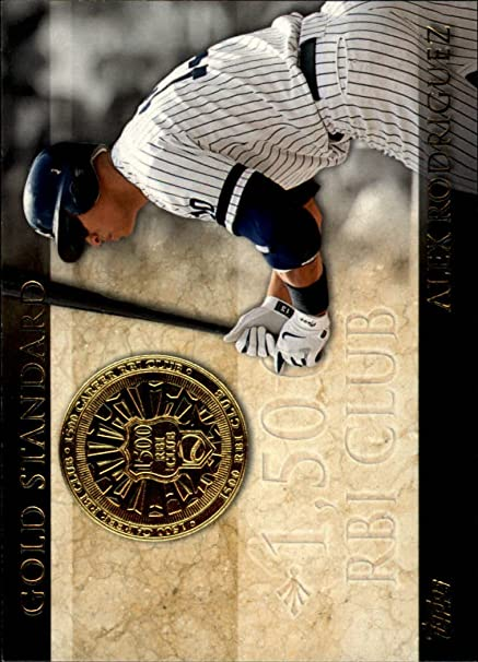 2012 Topps Gold Standard #GS44 Alex Rodriguez - NM-MT at ...