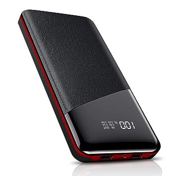 Todamay Power Bank 25000mAh Batería Externa 2 Salidas USB Ultra Alta Capacidad Cargador Portátil para Movil con indicador de Estado LED Digital para ...