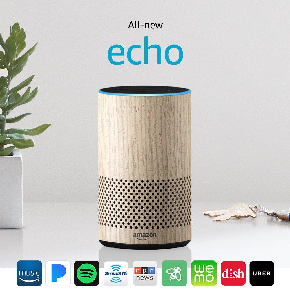 Echo 2nd Generation - Charcoal Fabric