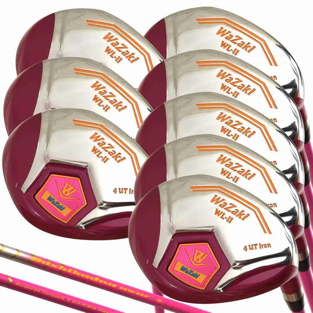 Japón Wazaki wl-iis 4-SW acero Mx Lady híbrida hierros Golf ...