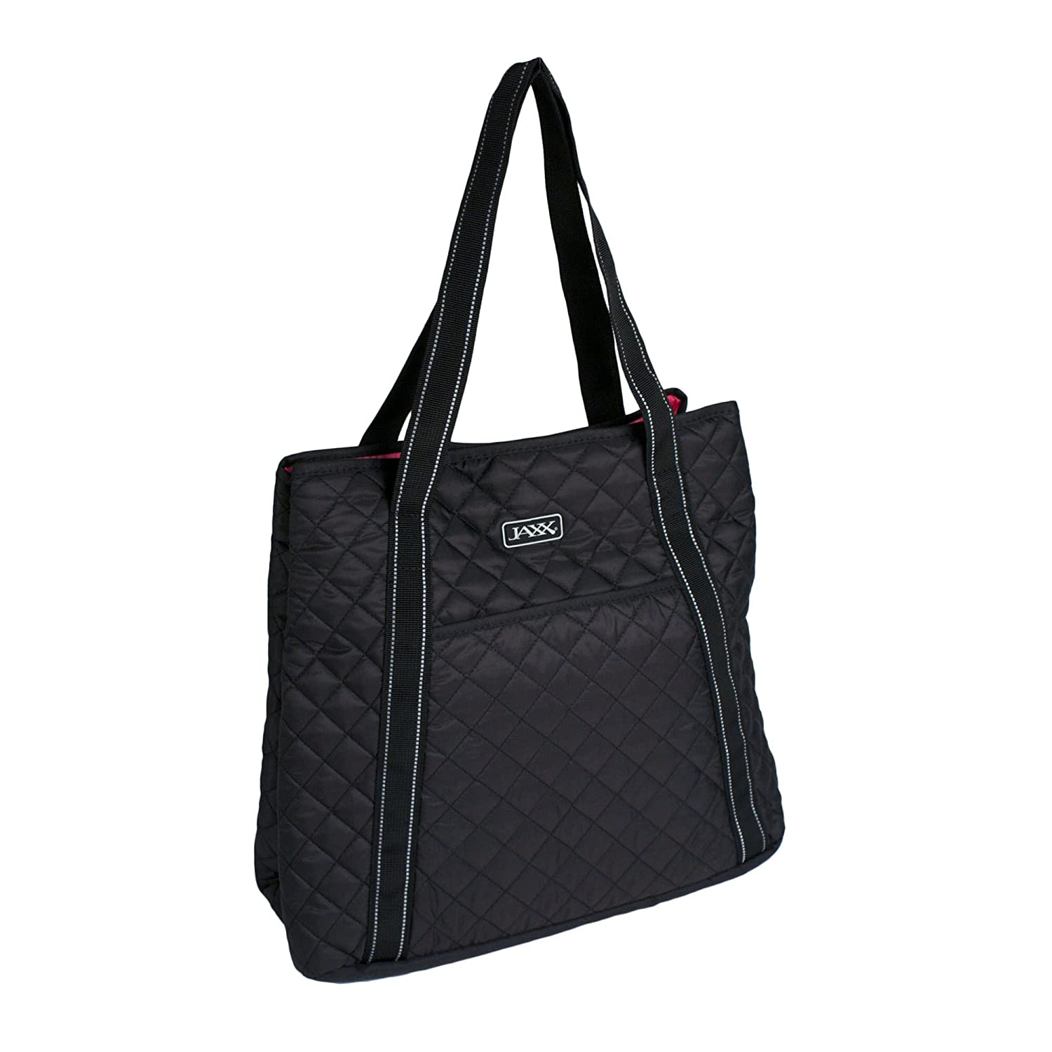 8f549482c33 Fit & Fresh 7053JXBLK Jaxx Quilted Meal Prep & Yoga Bag with Portion  Control Container Set, Black: Amazon.ca: Home & Kitchen
