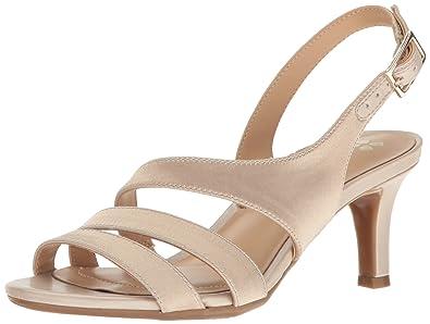 Naturalizer Womens Taimi Dress Sandal Champagne Size 95