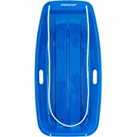 color aleatorio BESPORTBLE 2 unidades de trineo de pl/ástico para nieve con asa para ni/ños y adultos accesorios de esqu/í