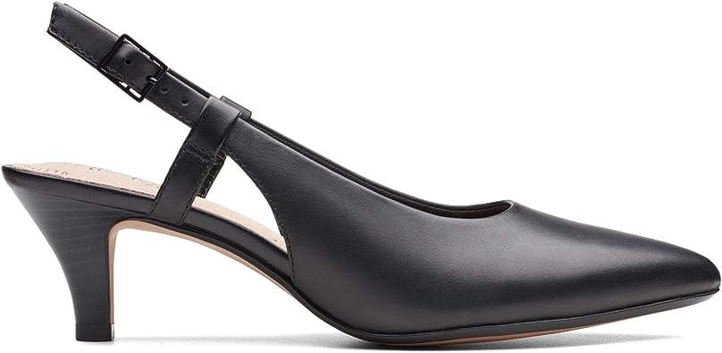 Clarks Damen Linvale Loop Slingback Pumps: : Schuhe
