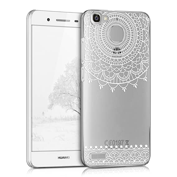 super popular 9aa91 4879d Amazon.com: kwmobile Crystal Case for Huawei GR3 / P8 Lite Smart ...