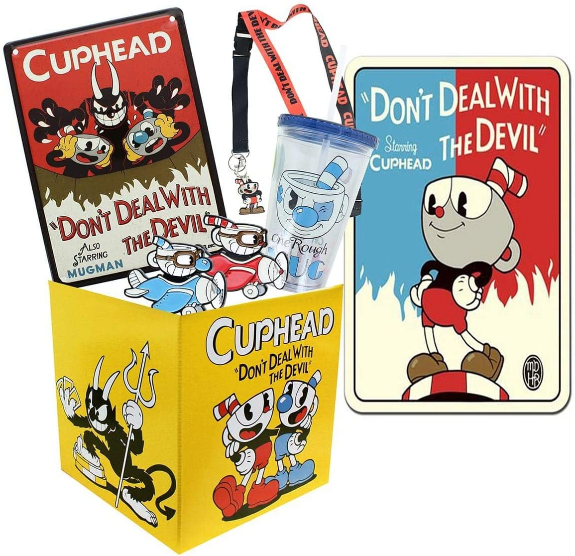 Toynk Cuphead Collectibles   Cuphead Looksee Collector's Box Version 2  Editor's Collection