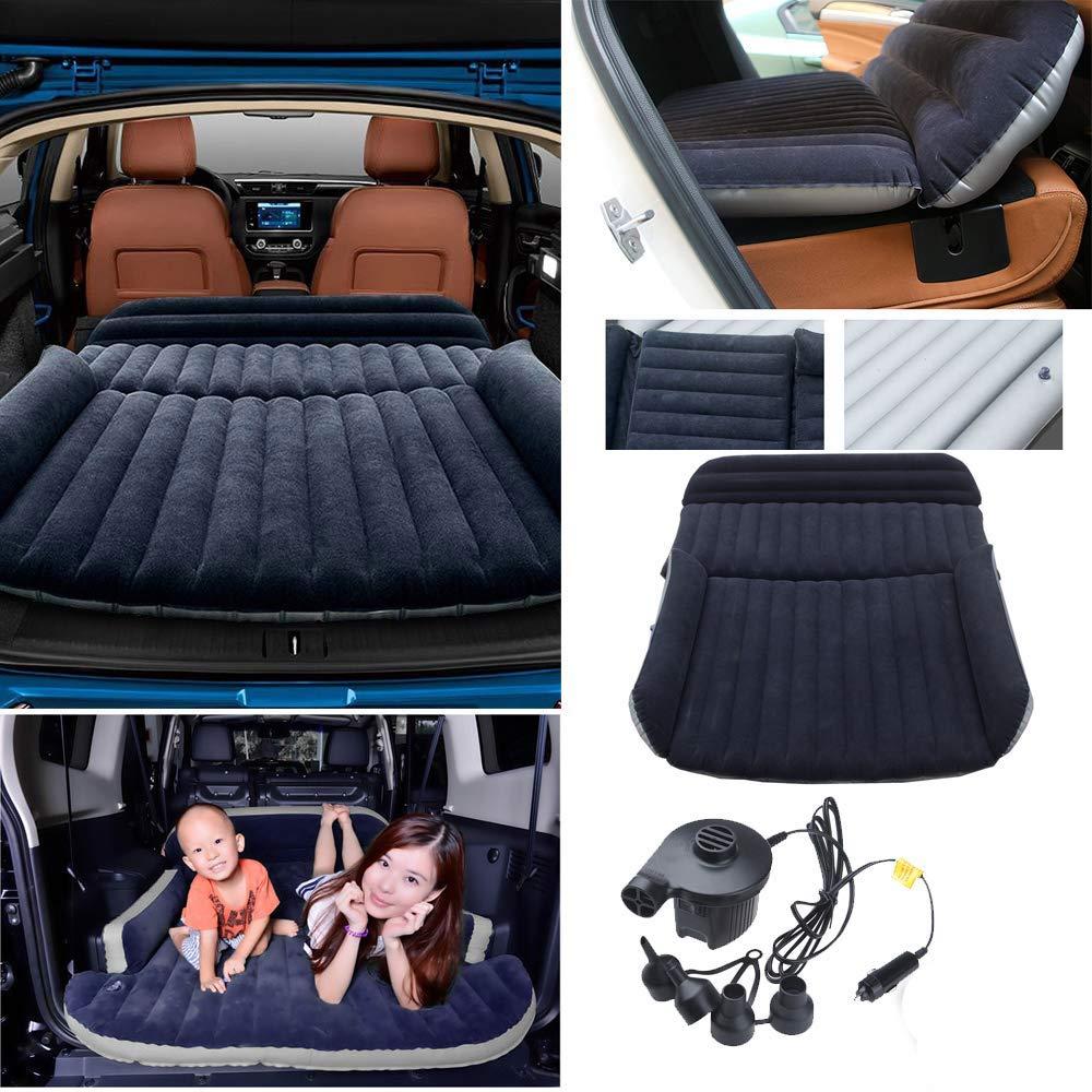 Colchón Inflable para Coche Cama Air de Auto SUV Viaje Camping Senderismo Cama Hinchable de Coche SUV Plegable Extendida para el Reposo de Sueño Sofá ...