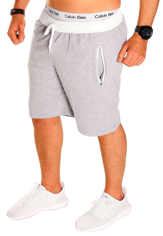 HERREN SHORT SHORTS shorty sport Baumwolle Capri Hose kurz