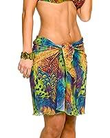 Kiniki Amalfi Tan Through Beach Wrap - Womens