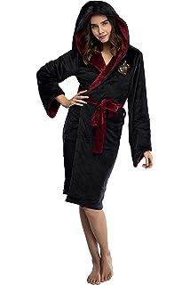 Amazon.com: Harry Potter Bata con capucha de forro polar ...