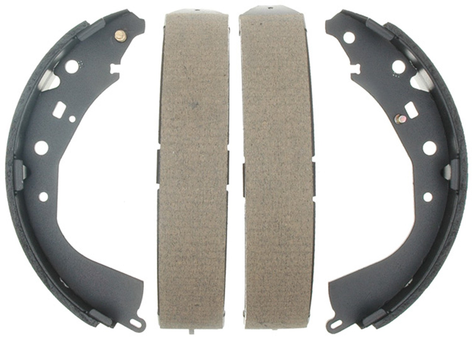 ACDelco 17764B Professional Bonded Rear Drum Brake Shoe Set