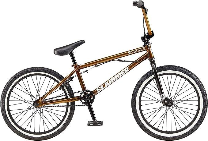 GT Bicicleta BMX 18 Freestyle Slammer Color Oro 20